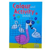 "Wins-Holland B.V. Activiteiten & Kleurboek +/- 72 pagina's ""Flamingo"""