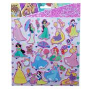 Disney Disney's Princess Foam Stickers +/- 22 Stickers