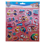 "Nickelodeon Paw Patrol Foam Stickers ""Top Pups"" +/- 22 Stickers"