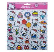 Hello Kitty Foam Stickers +/- 22 Stickers