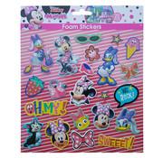 """Disney Disney's Minnie Mouse Foam Stickers """"We Rock"""" +/- 22 Stickers"""
