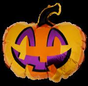 "Folieballon Halloween ""Pompoen"" 78x50 cm"