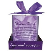 """Miko Message candle """"Lieve Oma"""""""