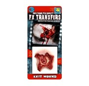 Tinsley Transfers Tinsley Horror 3D Tattoo Schotwond ( Exit Wound )