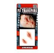 Tinsley Transfers Tinsley Horror 3D Tattoo Steekwonden ( Shanked )