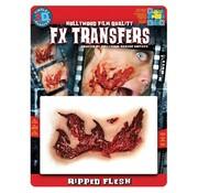 Tinsley Transfers Tinsley Horror 3D Tattoo Scheurwond ( Ripped Flesh )