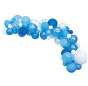 We Fiesta Ballon decoratie kit Blauw 71 Delig