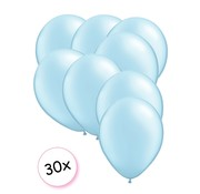Joni's Winkel Premium Quality Ballonnen Baby Blauw 30 stuks 30 cm
