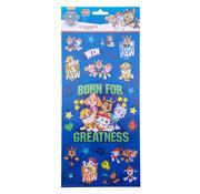 """Nickelodeon Stickers Nickelodeon's Paw Patrol """"Born For Greatness"""" +/- 50 stuks"""