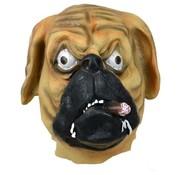 Comedia Masker hond met sigaar voor volwassenen