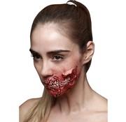 Ghoulish productions Ghoulish Latex Bloederige Kaak ( Bite Me )