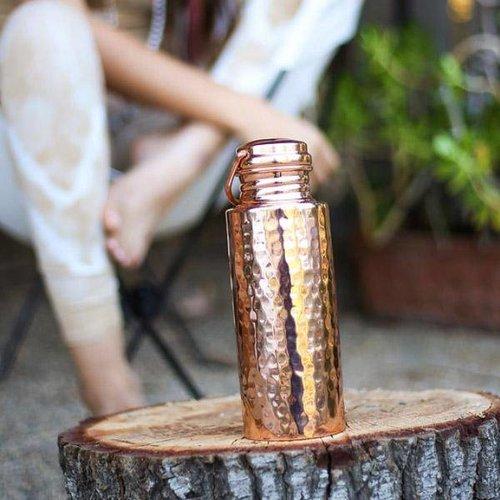 Ayur Naked Hammered 900 ml AYUR Bottle (Single Wall)