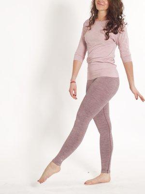 Tame the Bull - Duurzame Yoga- en Sportkleding Slimfit Legging III Eggplant Melee