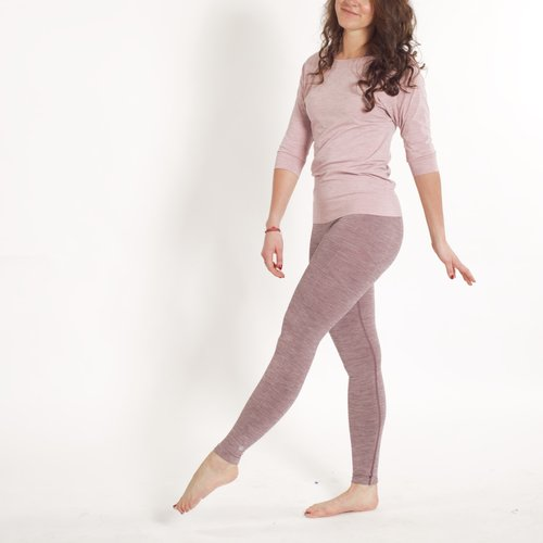 Tame the Bull Slimfit Legging III Eggplant Melee