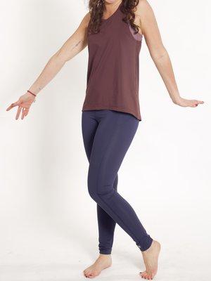 Tame the Bull - Seamless Yoga en Active Wear Abfab II Sport and Yoga Legging Donkerblauw