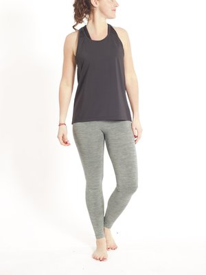 Tame the Bull A-Line Sport and Yoga Top Zwart