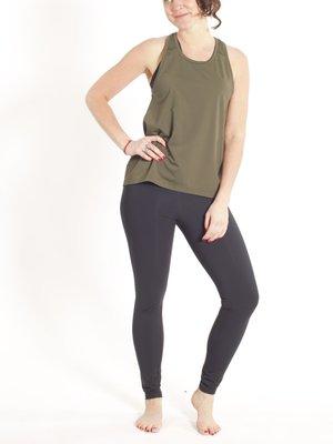 Tame the Bull - Seamless Yoga en Active Wear Abfab II Sport and Yoga Legging Zwart