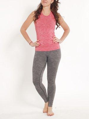 Tame the Bull - Seamless Yoga en Active Wear Slimfit Legging III Zwart Melee