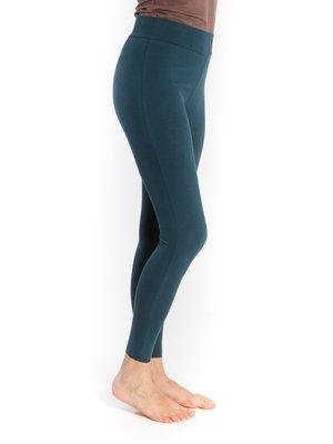 Yogamii - Organic Yoga Wear Yoga Legging Lilly Sea Blue