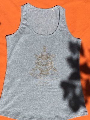 Maratika Foundation Women's tank top - light grey