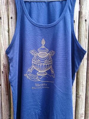 Maratika Foundation Men's tank dark blue