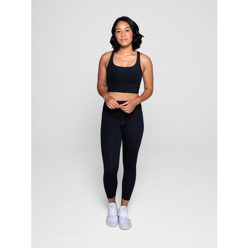 Girlfriend Collective - Duurzame Yoga- en Sportkleding Compressive Hoge Taille Legging Zwart