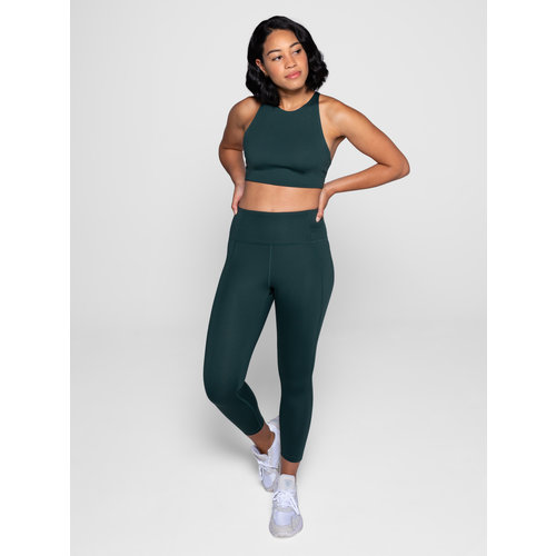 Girlfriend Collective Compressive High-Rise Legging Moss