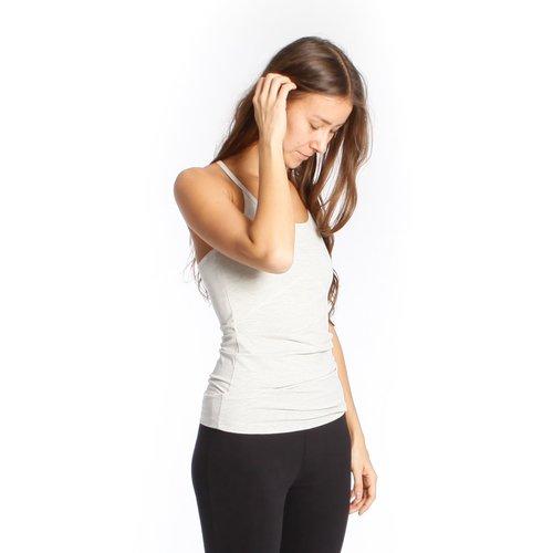 Yogamii - Duurzame Yoga Kleding Strap Top Nidra Off-white Melee