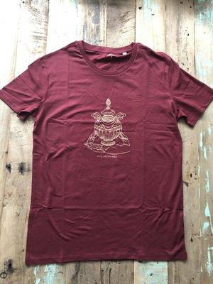 Maratika Foundation Men's t-shirt Bordeaux Red