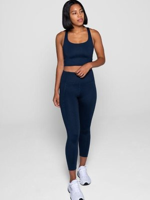 Girlfriend Collective Compressive High-Rise Legging Midnight