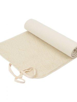 Flokati - Wollen Yoga Mat en Accessoires Yoga Mat Merino Wool 75X200