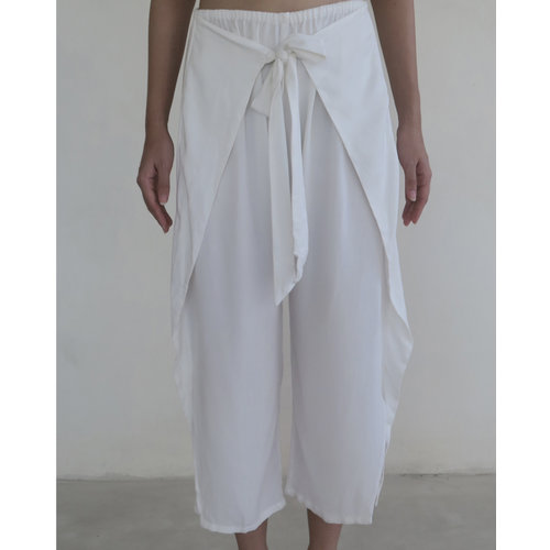Inti Yoga Studio Sage Trousers Off-White