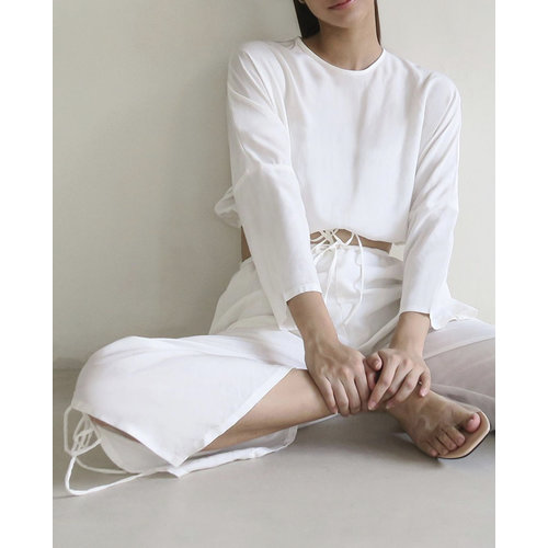 Inti Yoga Studio Alexandra Top Off-White