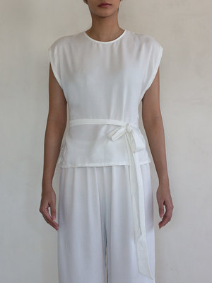 Inti Yoga Studio - Yoga en Lounge Wear Anja Top Off-White