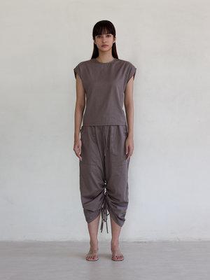 Inti Yoga Studio - Yoga en Lounge Wear Ramela Top Grijs