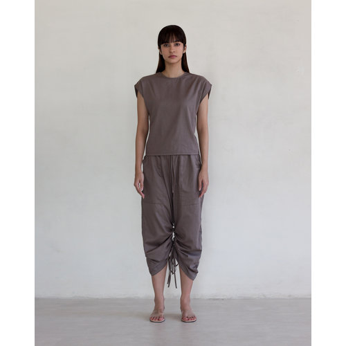 Inti Yoga Studio Ramela Top Grey