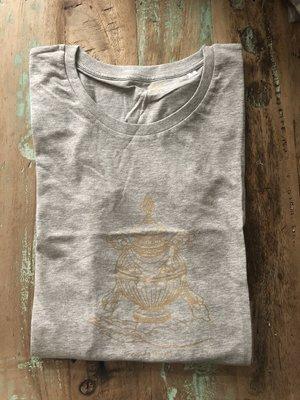 Maratika Foundation - Support Monastery in Nepal Women's t-shirt Grey