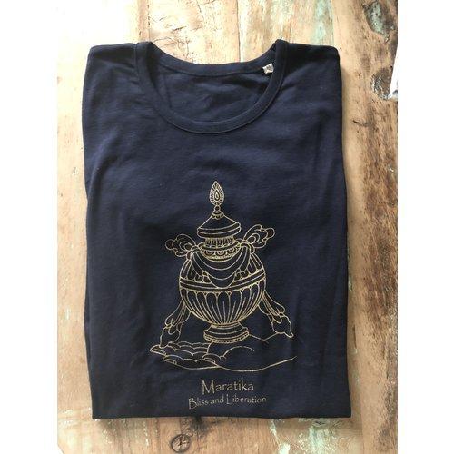 Maratika Foundation Men's t-shirt Navy