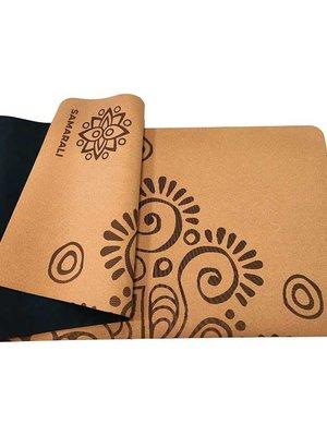 Samarali - Yogamatten van Kurk Moon Eclipse Cork Yoga Mat