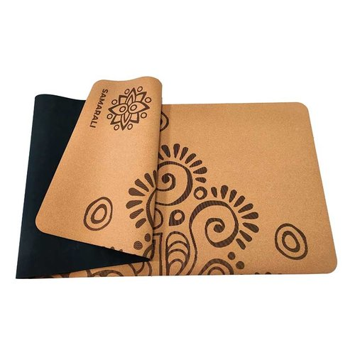 Samarali  Moon Eclipse Cork Yoga Mat