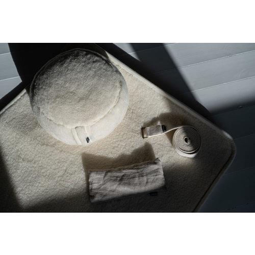 Flokati Meditation Cushion Merino Wool