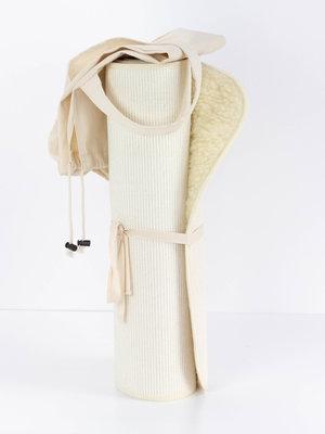 Flokati Yoga Mat Merino Wool incl. Bag