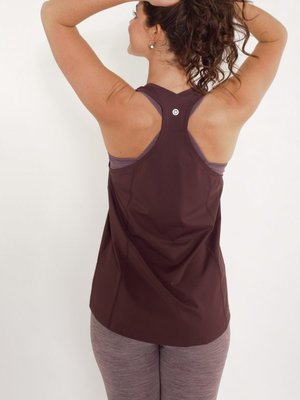 Tame the Bull - Seamless Yoga en Active Wear A-Line Sport and Yoga Top Brown