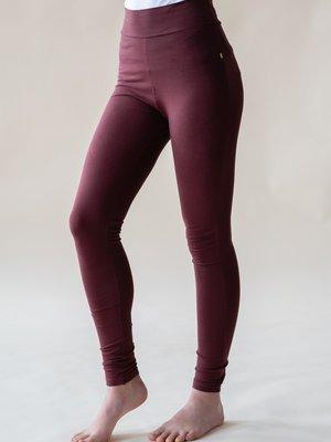 Yogamii - Organic Yoga Wear Lilly Legging Dark Plum