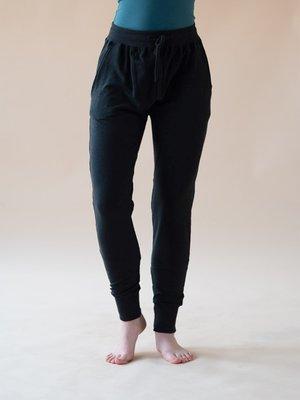 Yogamii - Organic Yoga Wear Mudra Broek Zwart