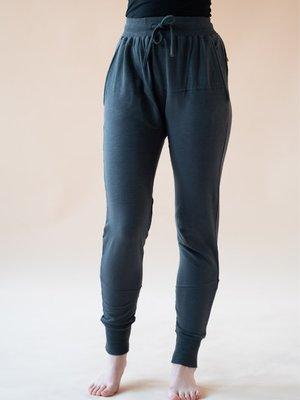 Yogamii - Organic Yoga Wear Mudra Broek Dusty Blue