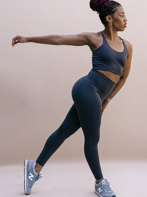 Girlfriend Collective - Duurzame Yoga- en Sportkleding Float High-Rise Legging Midnight
