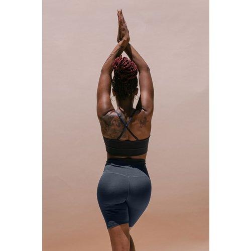 Girlfriend Collective - Duurzame Yoga- en Sportkleding Float Bralette Juliet Midnight