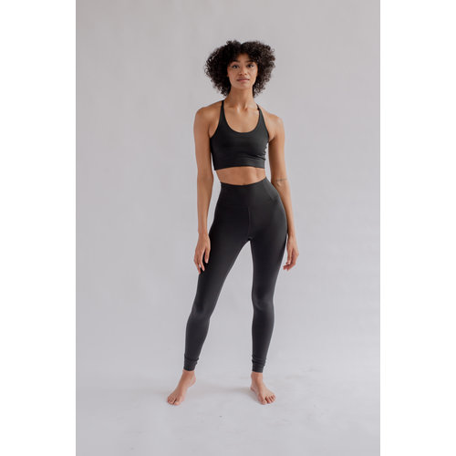 Girlfriend Collective Float High-Rise Legging Black