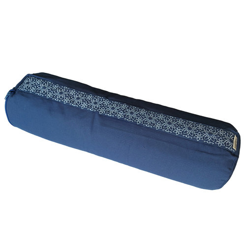 Samarali -  Organic Yoga Bolster Denim Blue